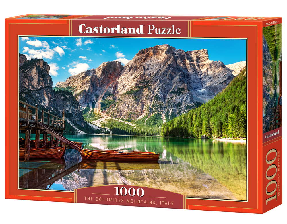 Castorland Puzzle The Dolomites Mountains, Italy 1000 Dielikov