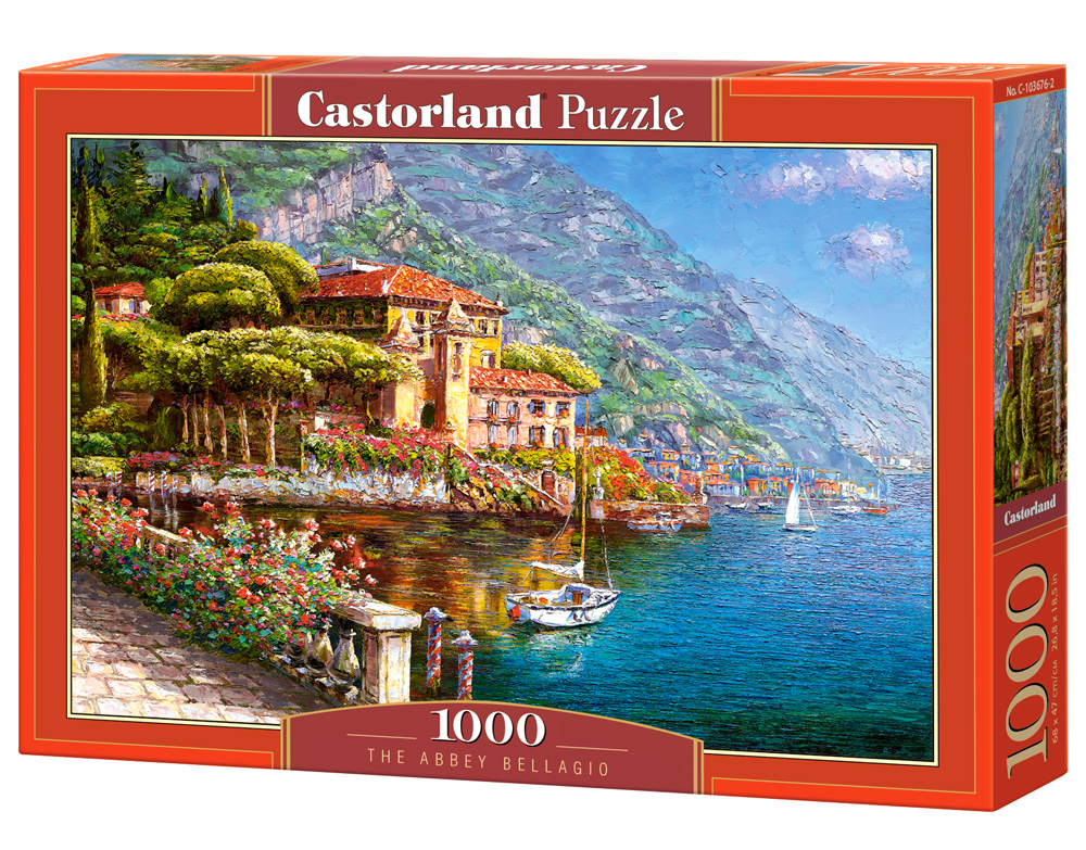 Puzzle Castorland The Abbey Bellagio 1000 Dielikov