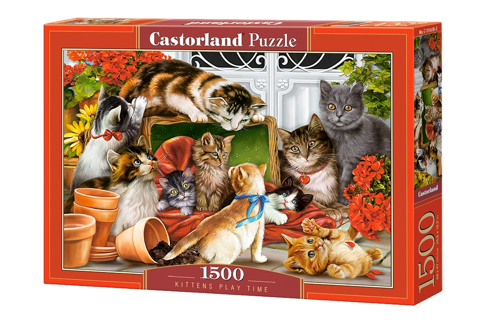Puzzle Castorland Kittens Play Time 1500 Dielikov