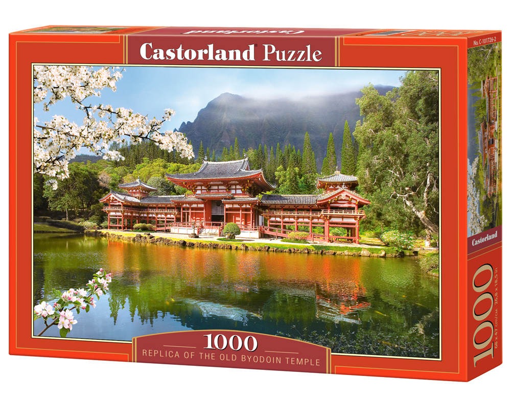 Puzzle Castorland Replica of the Old Byodion Temple 1000 Dielikov