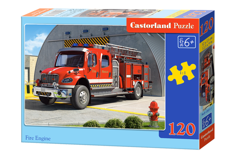 Puzzle Castorland Fire Engine 120 Dielikov