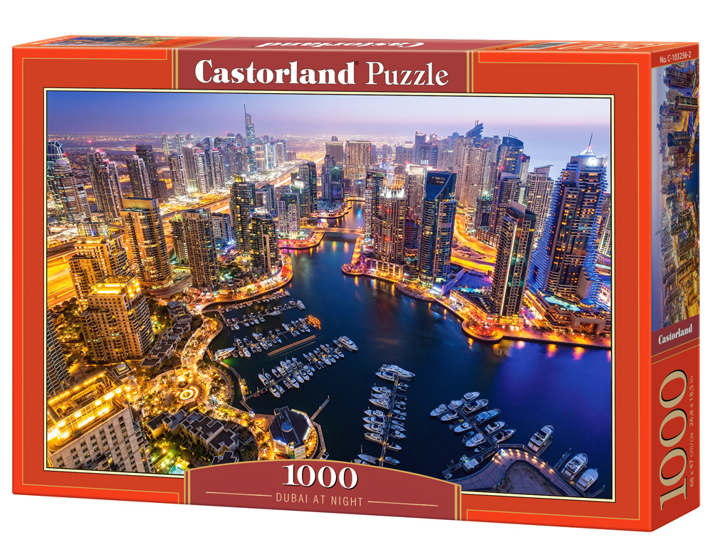 Puzzle Castorland Dubai at Night 1000 Dielikov
