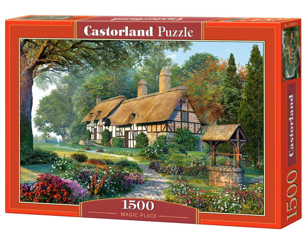 Puzzle Castorland Magic Place  1500 Dielikov