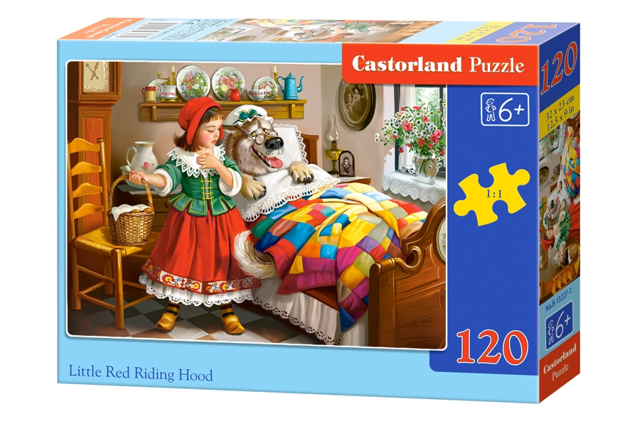 Castorland Puzzle Little Red Riding Hood 120 Dielikov