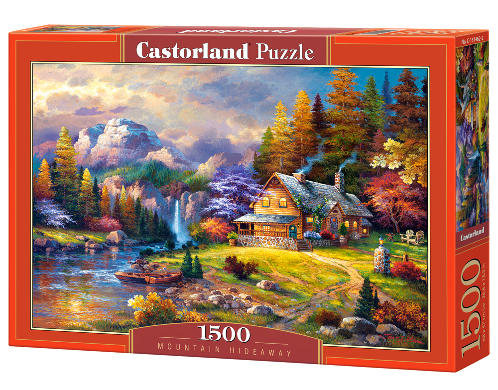 Puzzle Castorland Mountain Hideaway 1500 Dielikov