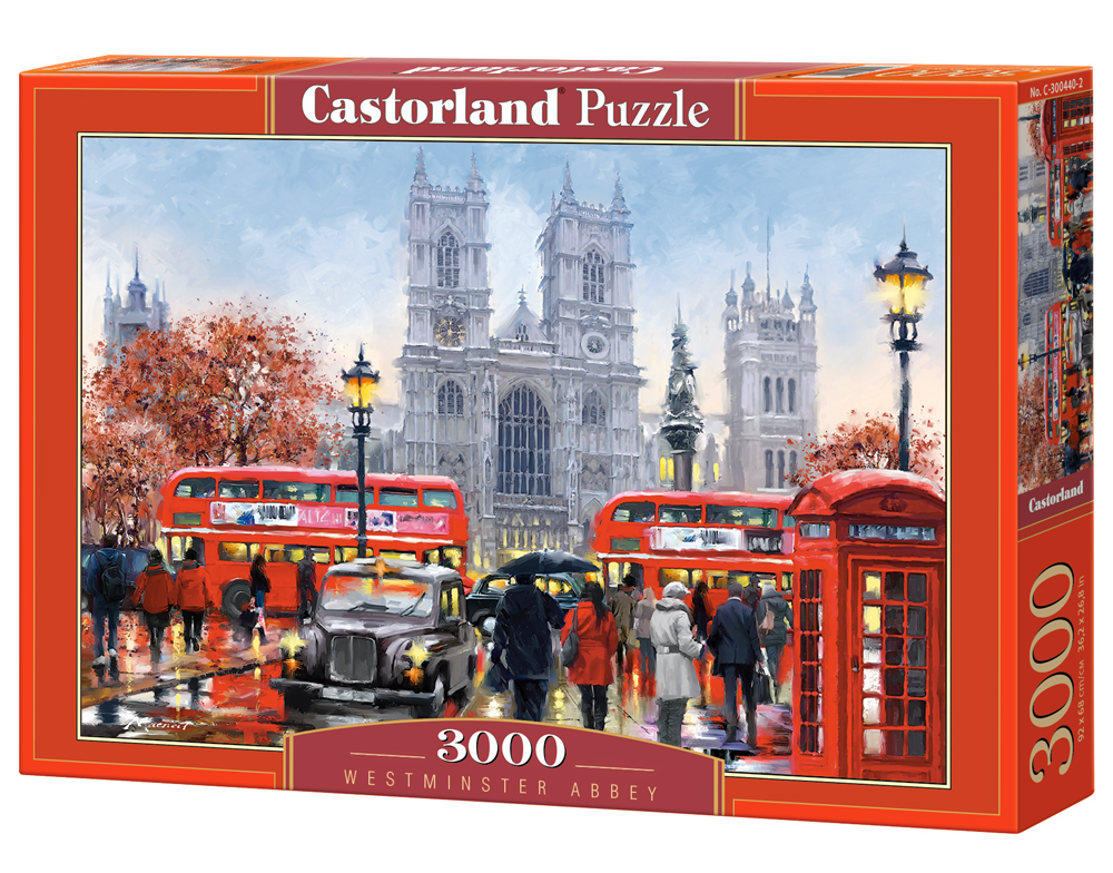 Puzzle Castorland Westminster Abbey 3000 Dielikov