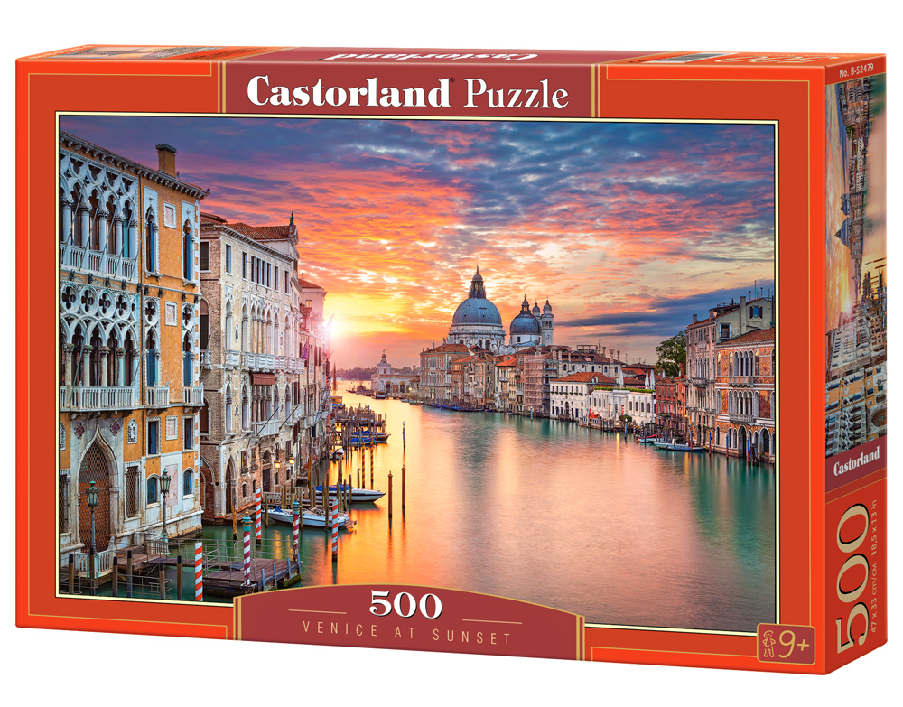 Castorland Puzzle Venice-at-Sunset 500 Dielikov