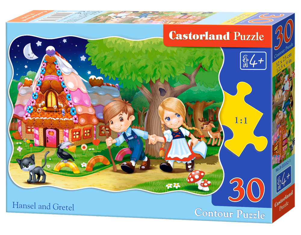 Puzzle Castorland Hansel and Gretel  30 Dielikov