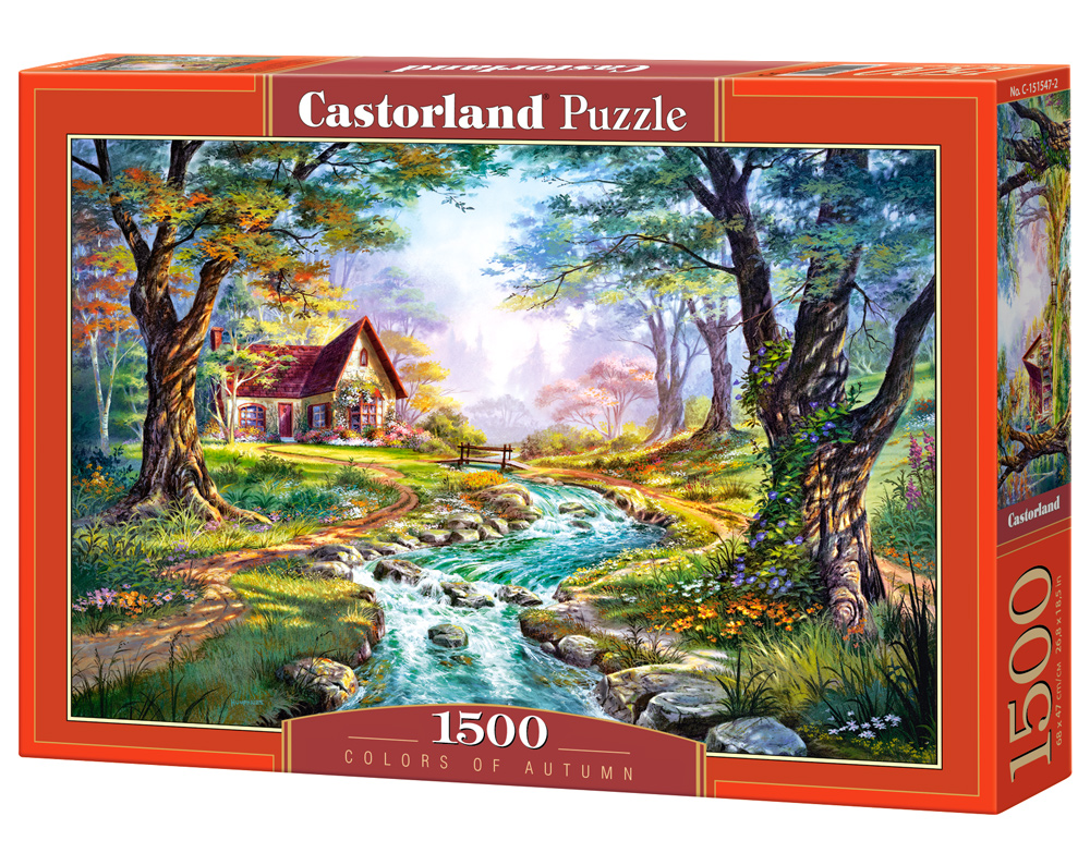 Puzzle Castorland Colors of Autumn 1500 Dielikov