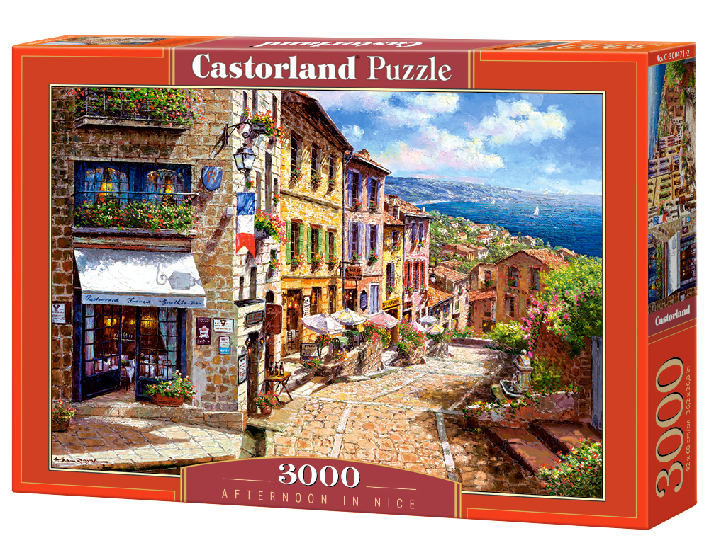 Puzzle Castorland Afternoon in Nice 3000 Dielikov