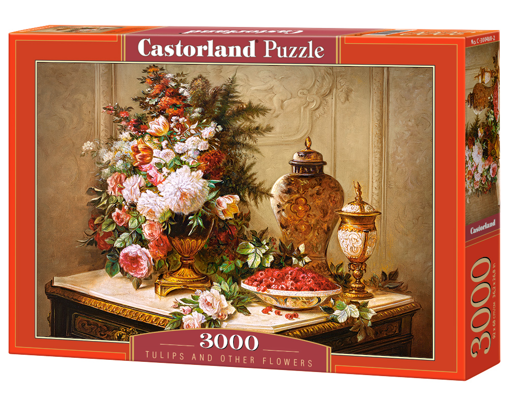 Puzzle Castorland Tulips and other Flowers3000 Dielikov