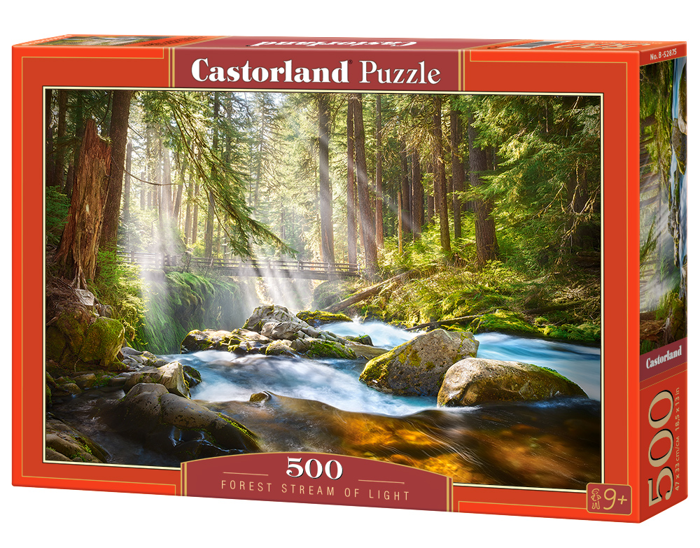 Castorland Puzzle Forest Stream of Light 500 Dielikov