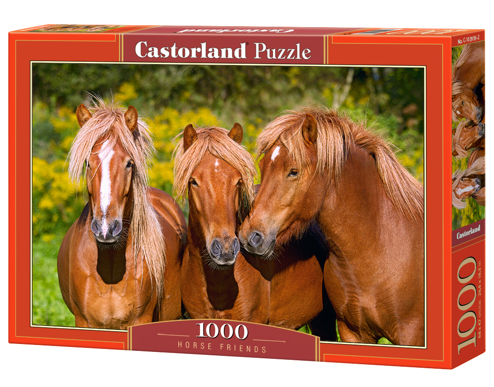 Castorland Puzzle Horse Friends 1000 Dielikov