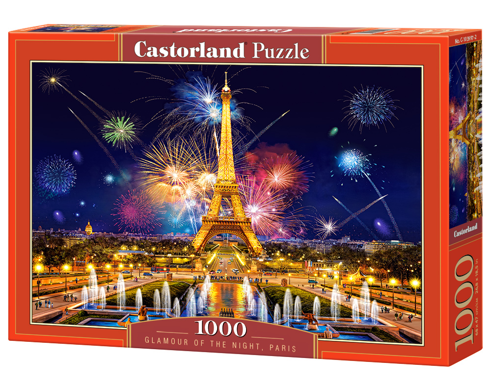 Castorland Puzzle Glamour of the Night, Paris 1000 Dielikov