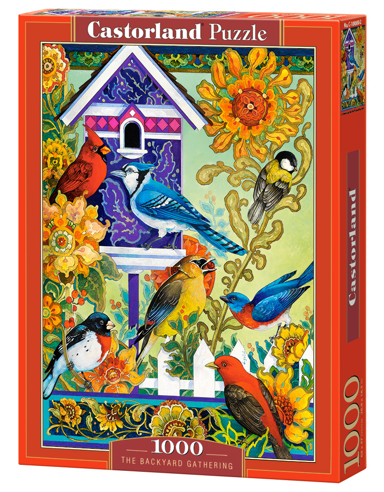 Castorland Puzzle The Backyard Gathering 1000 Dielikov